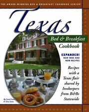 NEW Texas Bed and Breakfast Cookbook Expanded Hardcover Spiral Bound 2008 Recipe