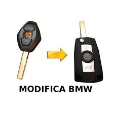 COVER CHIAVE GUSCIO MODIFICA BMW 3 5 7 Serie X3 X5 E46 E38 E39 E60 E61 E53 E83