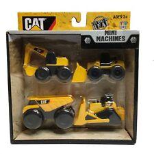 Cat Mini Machines Caterpillar Bulldozer Front Loader Construction Toys Set Of 4