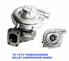 EMUSA Billet Wheel T3/T4 Hybrid Turbo Charger .50 A/R Compressor .63 A/R Turbine