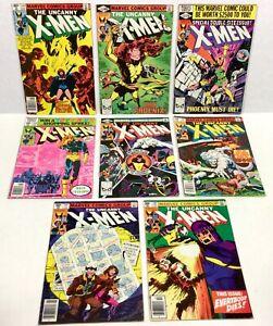 X-MEN #134,135,137,138,139,140,141,142 KEYS! (8-issue LOT!) 1979 Marvel