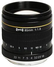 Opteka 85mm Portrait Lens for Nikon D5 D4 D810 D750 D500 D7200 D5500 D5300 D3300