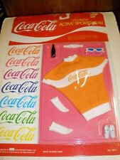 NOS NEW Coca Cola 11 1/2 inch Active Sportswear Clothing 1986 Barbie #4011