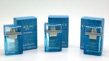 Versace Man Eau Fraiche 0.17 fl oz Eau De Toilette Mini for Men (Package of 3)