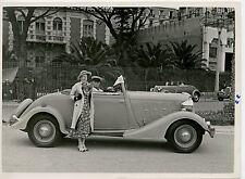 Original Foto Renault Cabriolet Concours D'Elegance Nice 30er