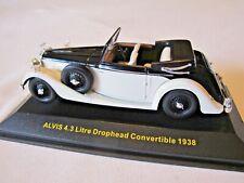 IXO Museum MUS065 1938 Alvis 4.3 Litre Drophead Convertible 1/43 Die-cast