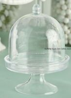 """3 in Mini Plastic Cake Cake Stand Doll Food Accessory For 18"""" American Girl Doll"""