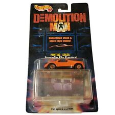 Hot Wheels Demolition Man #11087 Pontiac Salsa Orange Die Cast - Mattel 1993