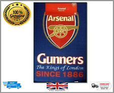 100% Official Licens Arsenal Football Club Large Rug bedroom - Non Slip Mat Gift