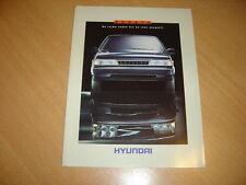 DEPLIANT Hyundai Sonata en néerlandais