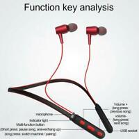 Drahtlose Bluetooth-Kopfhörer Sport Running Kopfhörer Stereo Super Bass Headset-