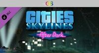 Cities: Skylines - After Dark DLC Steam Key Digital Download PC [Global]