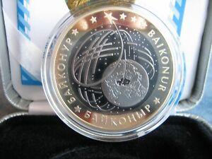 500 Tenge Kasachstan Space 2012 Baikonur 26,8g Tantal 14,6g Silber 925