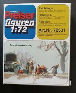 Preiser Military 72531: Flüchtlinge (1:72 Wehrmacht) Neu & OVP
