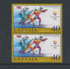 Latvia - 2002, Winter Olympic Games Booklet Pane - L/M - SG 575