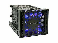 Mb074sp-b Black Vortex 3.5 HDD 4 in 3 Module Cooler Cage Icy Dock MB074SPB