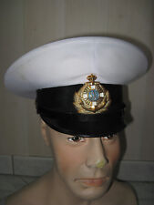 Casquette UKRAINE officier marine navale  URSS  T.55-56