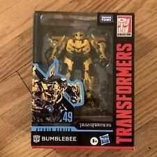 Transformers Studio Series!  BUMBLEBEE (CAMARO) FIGURE #49 - Deluxe Class