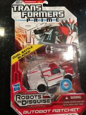 TRANSFORMERS PRIME ROBOTS IN DISGUISE AUTOBOT RATCHET FIGURE NEW