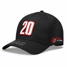 Haas Racing F1 Kevin Magnussen Driver Hat Black
