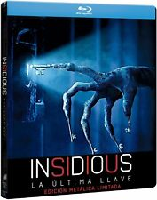 INSIDIOUS: THE LAST KEY  Steelbook (Blu-ray Disc, 2018, Region Free)