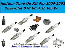 2002 Chevrolet S10 Distributor Cap Rotor Spark Plug Air Filter Ignition Tune Up