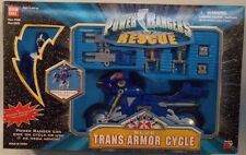 Power Rangers Lightspeed Rescue - Blue Trans-Armor Cycle With Blue Ranger (MISB)
