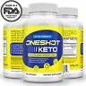 Keto One Shot Weight Loss Pills Supplement Keto Diet Fat Burner 60 Capsules