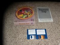 "Treasure Trap IBM PC Mint 3.5"" disks with box and manual"