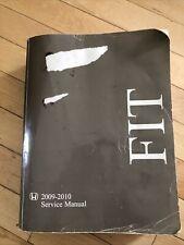 2009 - 2010 Honda Fit Hatchback Shop Service Repair Manual