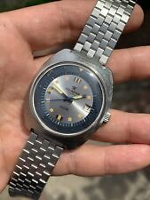 Vintage Aquastar Seatime Mens Diver Watch With Box And Warranty Paper 39mm