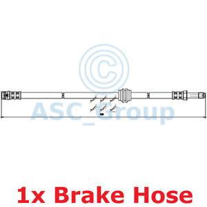 Apec BRAKING 515mm Bremsscheiben Bremssattel Flexible Gummi Schlauch HOS3827