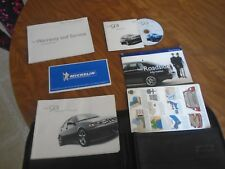 2002 Saab 93 9-3 Owners Manual User Guide Set W/ CD & Case