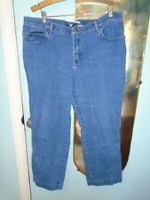 LEE** AT THE WAIST RELAXED STRAIGHT LEG WOMENS JEANS sz20W med