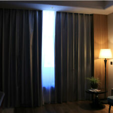 Window Blackout Curtain Linings Fabric Thermal Insulation Silver Ready Made