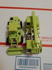 G1 transformers Hook unbroken & scrapper w/ his canopy only vintage 1984 Hasbro