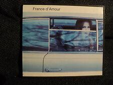 """CD """"FRANCE D'AMOUR - QUE DES MOTS"""" 13 titres"""
