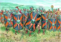 Italeri 1:72 - 6047, Römische Infanterie 1. Jahrhundert, 35 Figuren, Modellbau
