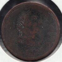 1820 - Lower Canada - ½ Penny - Superfleas - LC-57A2 - Rough but rare