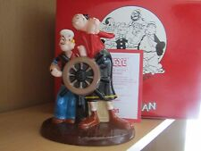 COALPORT  POPEYE AND OLIVE OYL LIMITED EDITION  75th ANNIVERSARY mib
