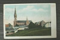 Bayern AK Gruss aus Zwiesel 1906 NDB Ortsansicht Häuser Gebäude Kirche uvm ++ (2