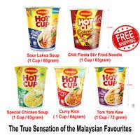 Instant Noodle HOT CUP Maggi Great Tasting Foods 3 Minutes True Sensation Flavor