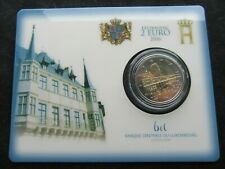 2 Euro Commémorative Coincard Bu Luxembourg 2016 Charlotte