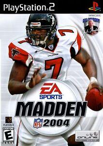 Madden NFL 2004 - Playstation 2 Game Complete
