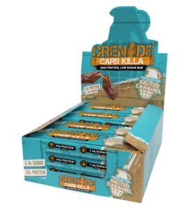 Grenade Carb Killa Bars Box X 12 Salted Caramel