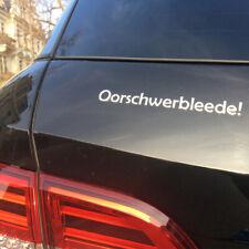 3D Autoaufkleber Autosticker Dresden Sachsen | Oorschwerbleede | Sticker Aufkleb