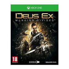 DEUS EX MANKIND DIVIDED STEELBOOK XBOX ONE BRAND NEW MICROSOFT SQUARE ENIX EIDOS