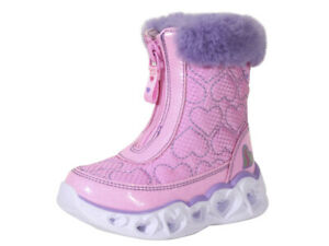Skechers Toddler/Little Girl's Heart Lights Happy Hearted Light Up Boots Shoes