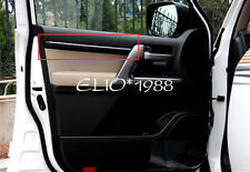 Car Inner Door Stripe Decoration Cover 4pcs for Toyota Land Cruiser LC200 08-16