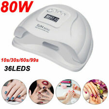 SUN-X5Plus 80W Nail Lamp UV LED Light Professional Nail Dryer Gel Curing Machine